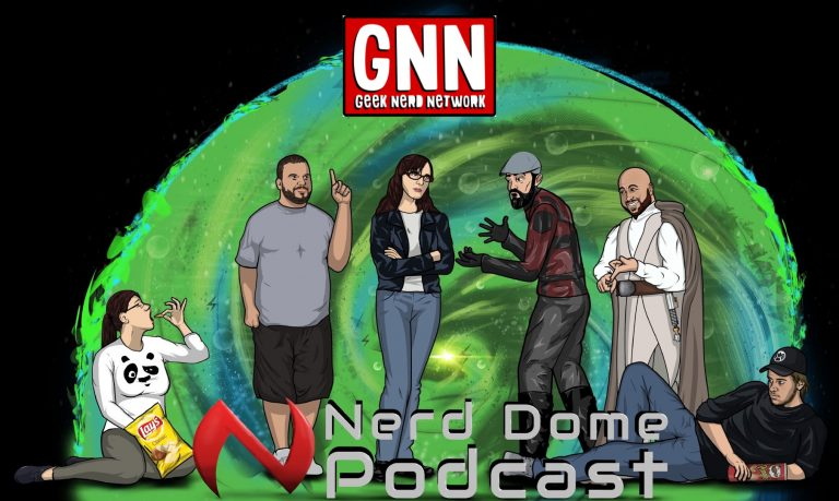 Nerd Dome Podcast Episode 192 – It's OK if There is a Dinosaur in the Middle